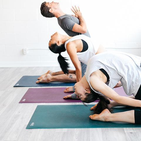 Halfmoon B Mat Yoga Mat Rocky Mountain Fitness Kelowna Prince George Cranbrook