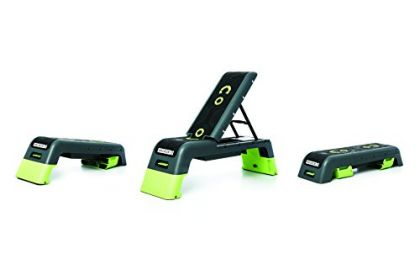 The Escape Deck 2.0 (2-in-1 Step Bench Combo)