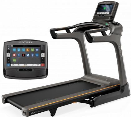 Matrix Fitness TF30 Folding Treadmill with XIR Console