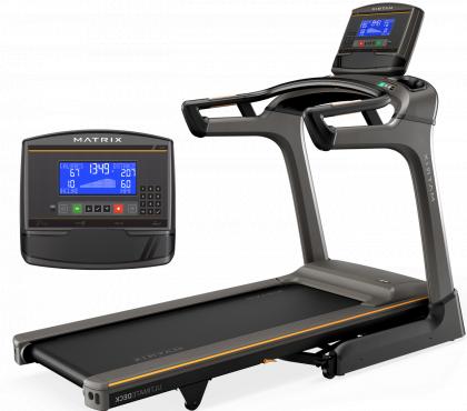 Matrix Fitness TF30 Folding Treadmill with XR Console